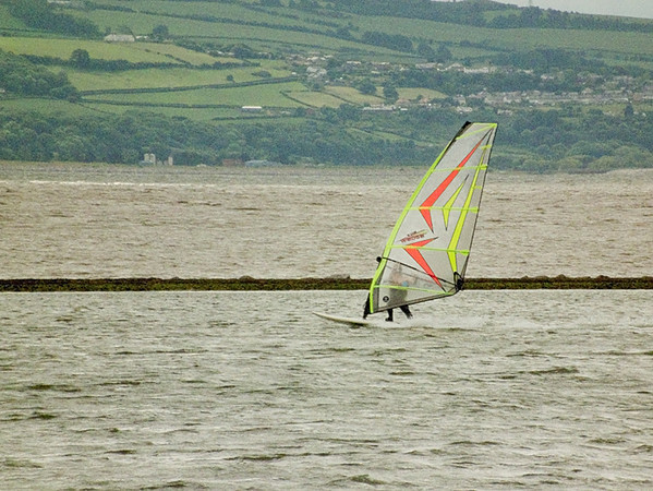 West Kirby wind surfer