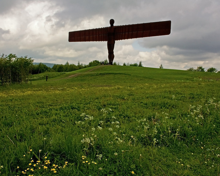 A slightly different view of the Angel of the North