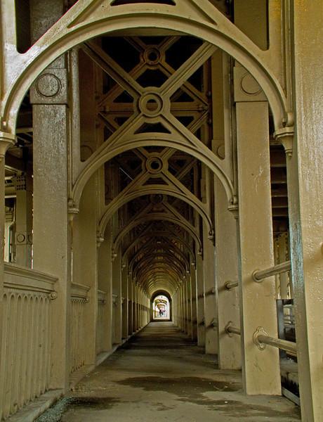 High Level Bridge from Gateshead to Newcastle