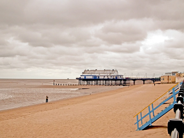 Cleethorpes Beach and Pier