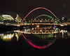 Sage Gateshead and the Bridges over the Tyne