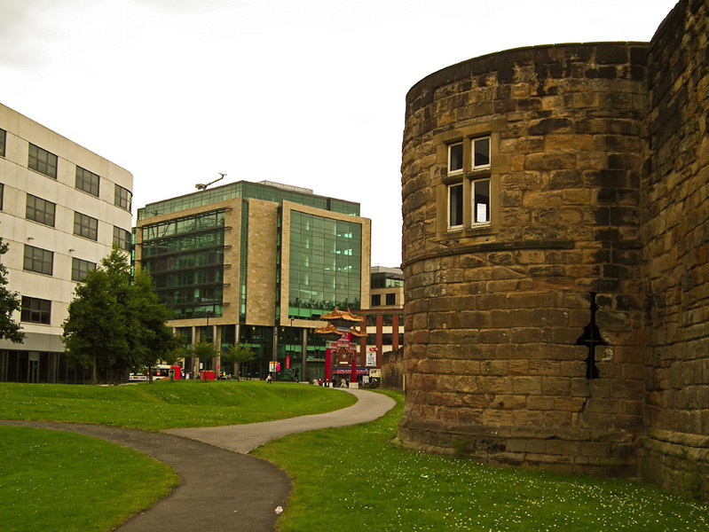 Newcastle City Wall 01