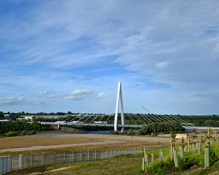 Northern Spire Bridge over River Wear