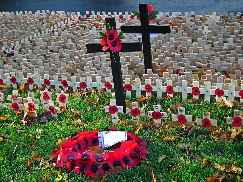 Remembrance Sunday Saltwell Park Gateshead 3