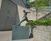 Jackie Milburn statue at St James Park Newcastle