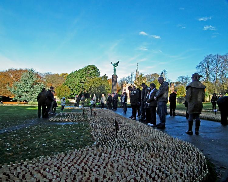 Remembrance Sunday Saltwell Park Gateshead 8