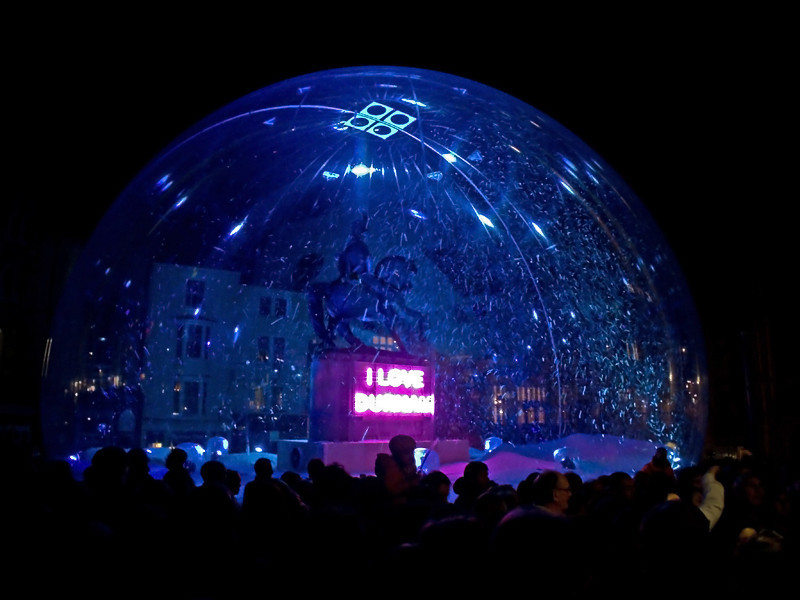 Durham Lumiere  November 2011<br /> <br />  Marquess of Londonderry in a Snowdome by Jacques Rival