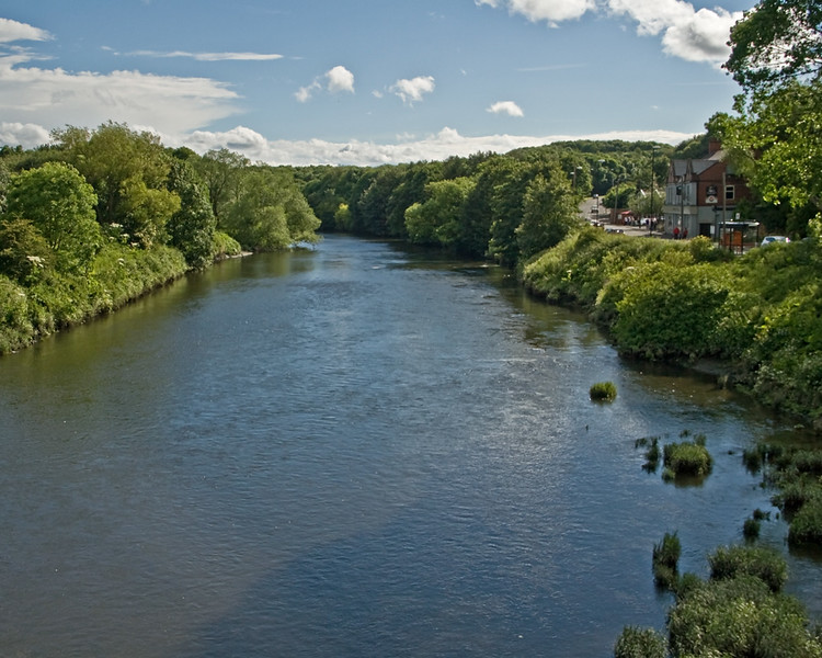 The view from Fatfield Bridge