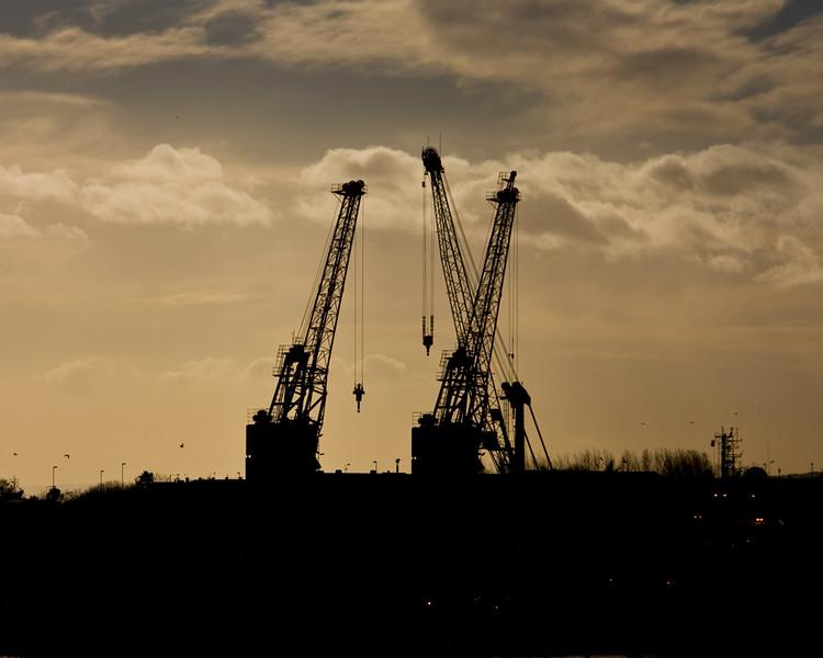 Shipyards in Sunderland