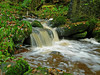 mini waterfall northumberland