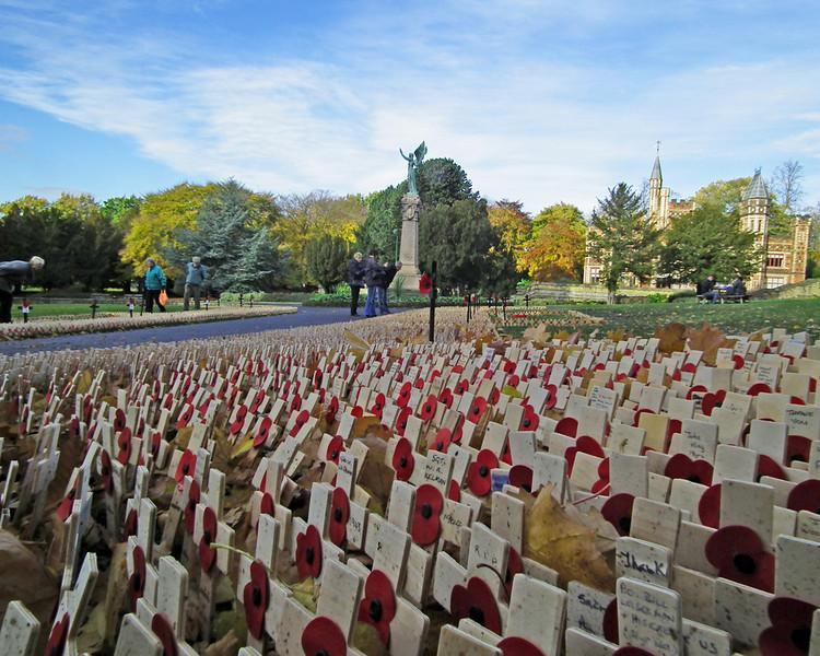 Saltwell Park Garden of Remembrance 2012 d
