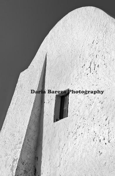 House wall, Santorini, Greece