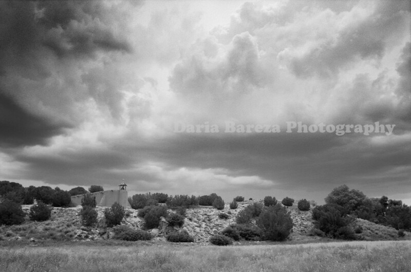 Clouds at Morada, Rancho de las Golondrinas, New Mexico