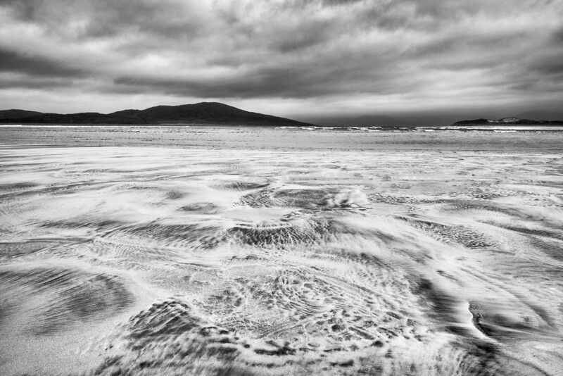 Sand and the Sea, Hebrides, Scotland