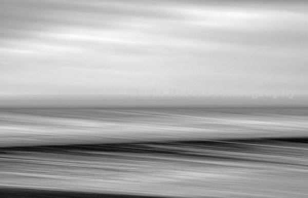 Sea and Black Sand, Sutherland, Scotland