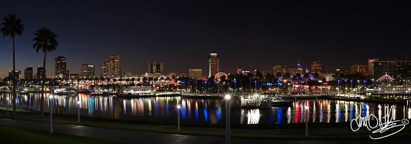Downtown Long Beach pano