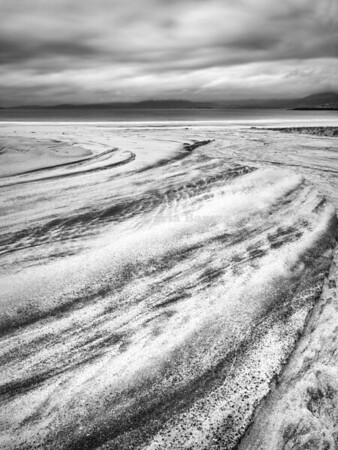Sand Patterns, Hebrides, Scotland