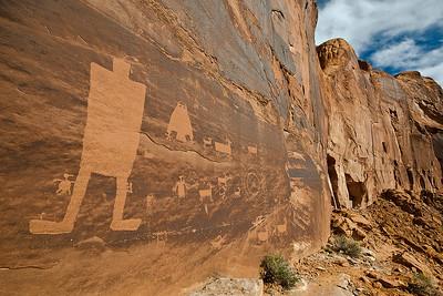 mys108:  The Owl Panel, Kane Creek area, near Moab, Utah