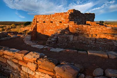 mys62:  Pueblo at Edge of  the Cedars State Park, Blanding, Utah