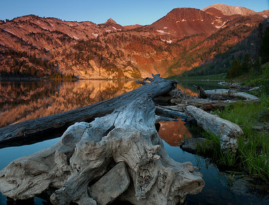 Sunrise on Ice Lake, Eagle Cap Wilderness
