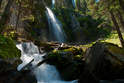 Strawberry Falls, Strawberry Mountain Wilderness