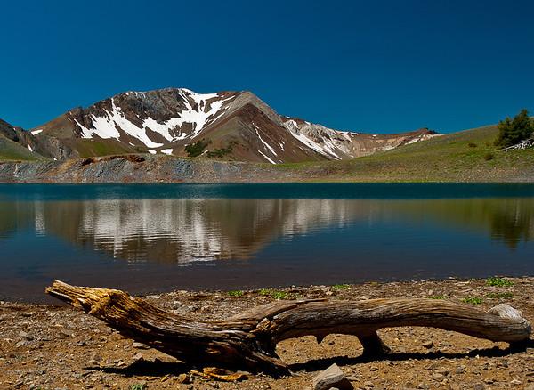 Dollar Lake over Dollar Pass, Eagle Cap Wilderness
