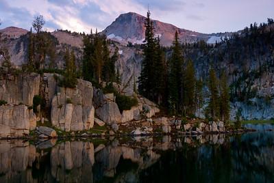 Sunset on Mirror Lake, Eagle Cap Wilderness