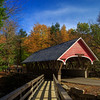 Covered Bridge - Franconia Notch State Park