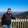 On top of the Observation tower in Canon Mountain NH