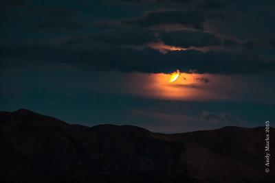 Blood moon arising