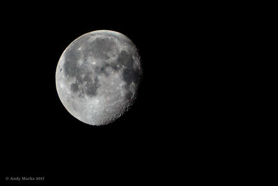 96% waning gibbous: LR pano merge of 4 images