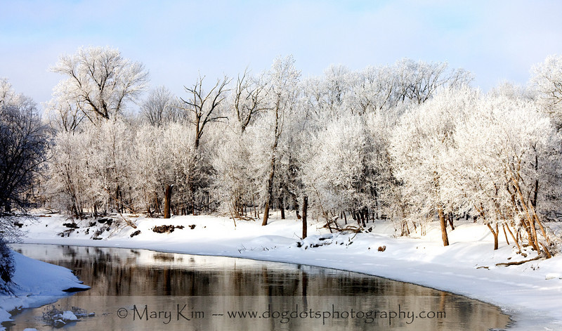 Winter Along the Red River