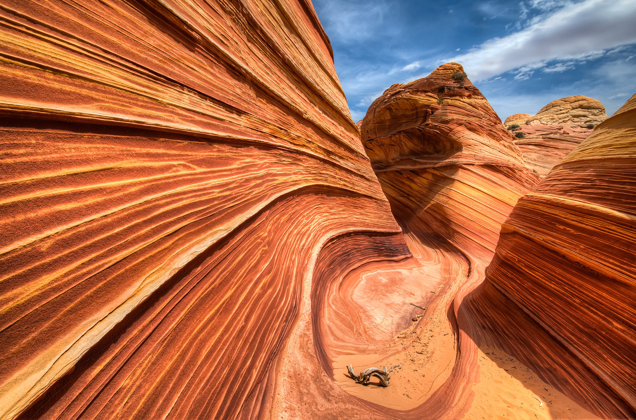 """The Wave"" in Northern Arizona"