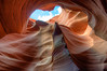 The slot canyons near Page, AZ