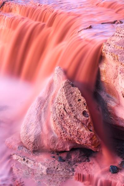 Navajo Reservation waterfall