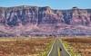 Vermilion Cliffs on the way to Navajo Bridge in Northern Arizona