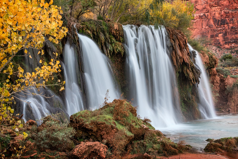 Autumn at Navajo Falls