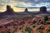 Sunrise Over Monument Valley