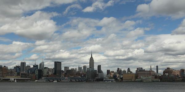 NYC Skyline - April 2010