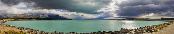 Panaromic View of Lake Pukaki