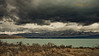Clouds Loom in Mt Cook and Lake Pukaki