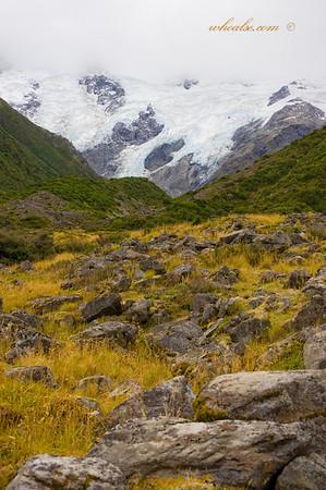 Hooker Valley Glacier, Mt Cook