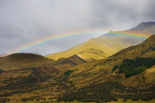 Rainbow, Mt Cook
