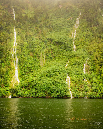 Waterfalls, Doubtful Sound