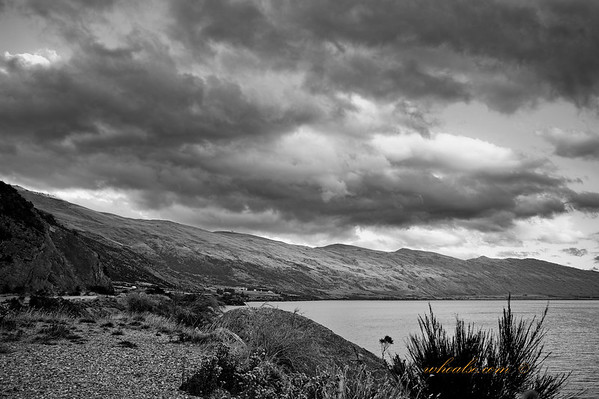 The Approaching Clouds, Sunset in Lake Wakatipu, Queenstown
