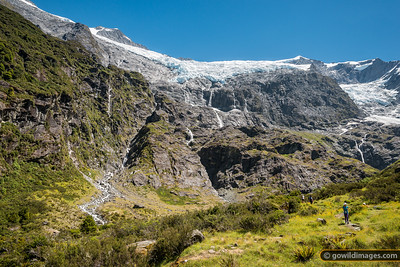 Rob Roy Glacier Face