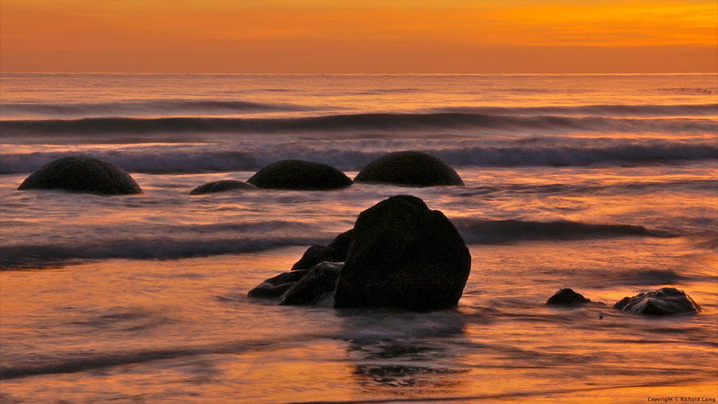 Moeraki At Dawn