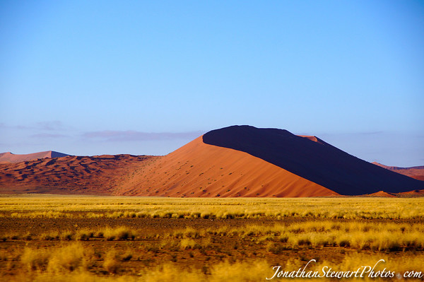 The dunes at Sossusvlei