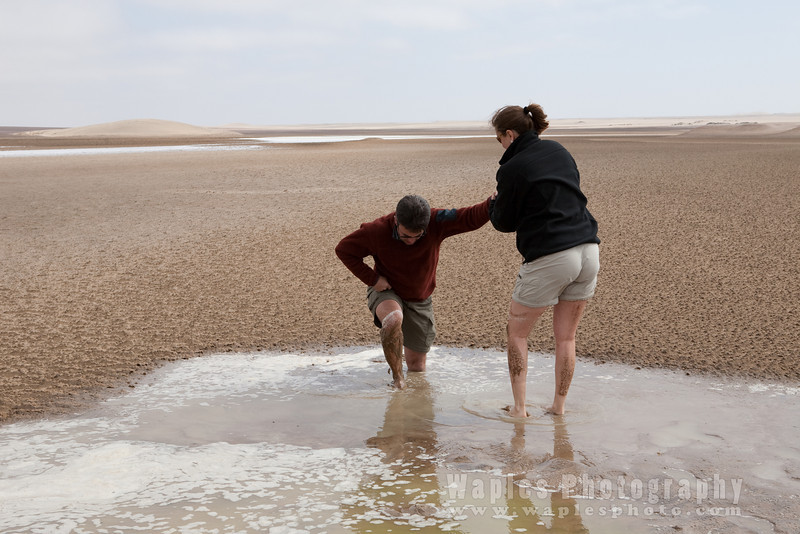 Mark and Terri in Quicksand!