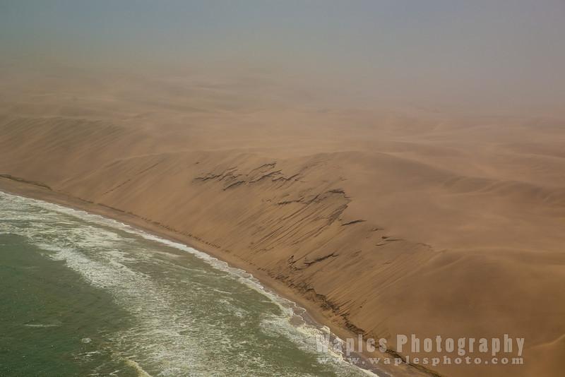 Massive Sand Dunes along the Skeleton Coast